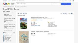 Portal 2 Ps3 Ebay