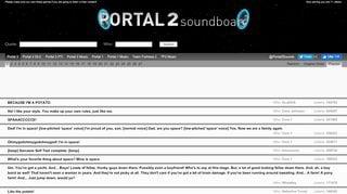 Portal 2 Sounds