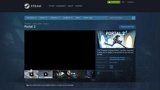 Portal 2 Watch