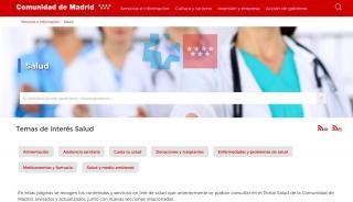 Portal De Salud Madrid