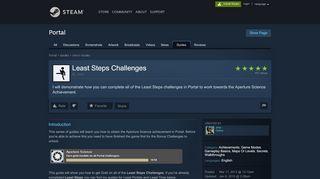 Portal Least Steps