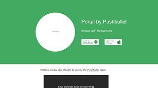 Portal Sharing App