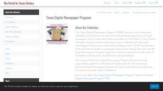 Portal Texas History Newspaper