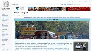Portal Transport App