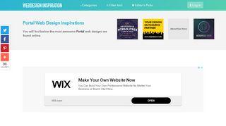 Portal Website Design Inspiration
