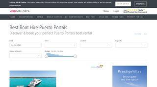 Puerto Portals Boat Hire