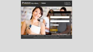 Purdue Global Student Portal