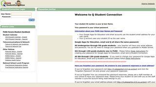 Q Student Portal Pusd