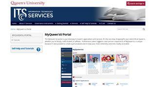Queens University Portal