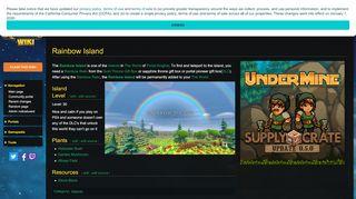 Rainbow Island Portal Knights