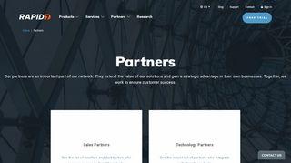 Rapid7 Partner Portal