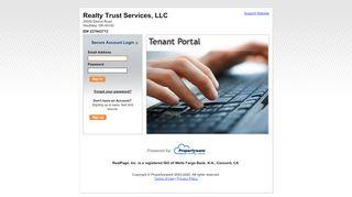 Realty Trust Services Tenant Portal