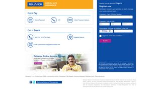 Reliance Life Insurance Online Portal