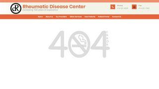 Rheumatic Disease Center Portal