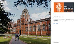 Rhul Campus Connect Portal