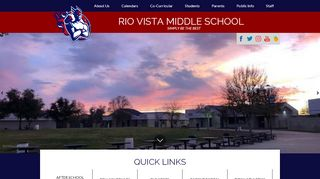 Rio Vista Parent Portal