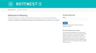 Rottnest Online Booking Portal
