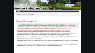 Rpi Housing Portal