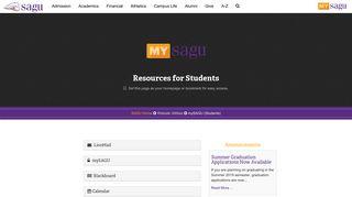 Sagu Student Portal