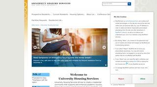 San Jose State University Housing Portal