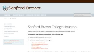 Sbc Houston Student Portal