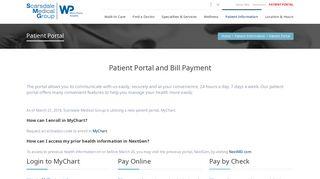 Scarsdale Medical Group Portal