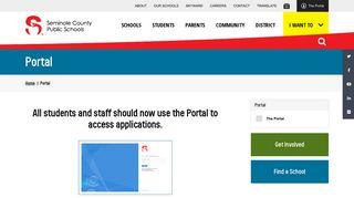 Seminole County Public Schools Portal
