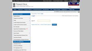 Seva Online Portal