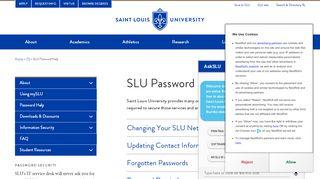 Slu Portal Forgot Password
