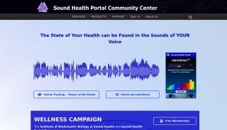 Sound Health Portal