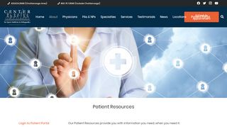 Sports Medicine Patient Portal