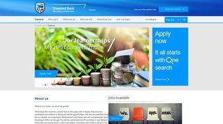 Standard Bank Job Portal