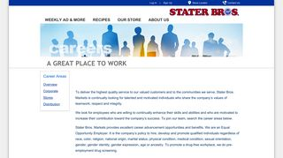 Stater Bros Employee Portal