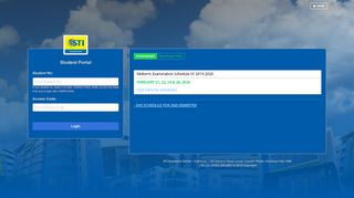 Sticaloocan Student Portal