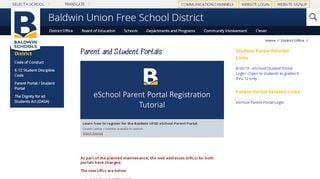 Student Portal Baldwin