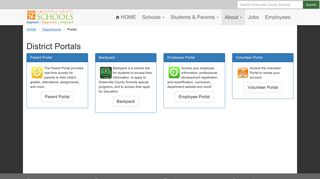 Student Portal Greenville