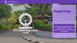 Student Portal Nitc