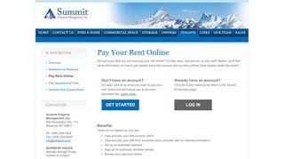 Summit Property Management Portal
