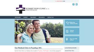 Summit View Clinic Patient Portal