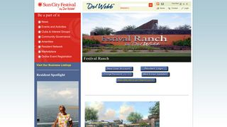 Sun City Festival Portal