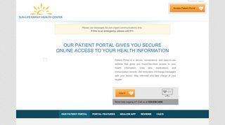 Sun Life Patient Portal