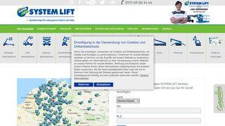 System Lift Partner Portal