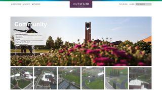 Taylor University Portal