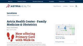 Terrace Heights Family Physicians Patient Portal
