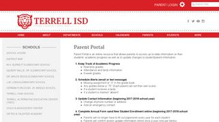 Terrell Isd Parent Portal