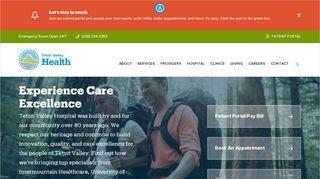 Teton Valley Health Care Portal