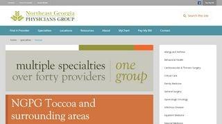 Toccoa Clinic Patient Portal