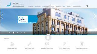 Treubau Verwaltung Mannheim Portal