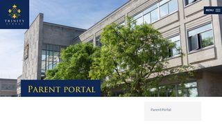 Trinity Parent Portal