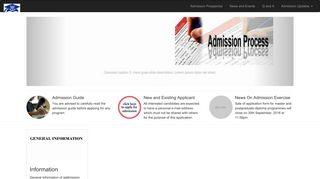 Ui Pg School Admission Portal Login